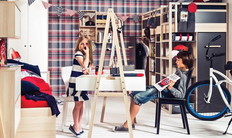 aranżacja 1 Kerradeco Textile Scotch