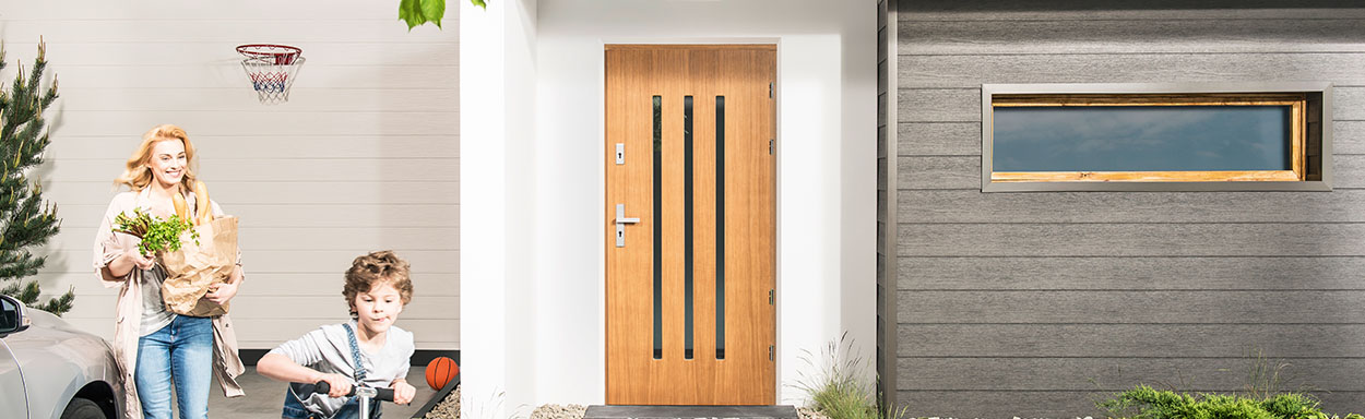 Drzwi Zewnetrze Stalowe I Drewniane Drzwi I Podlogi Vox
