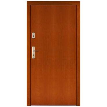Drzwi zewnętrzne drewniane płytowe CAL Jagienka kolekcja Rycerska