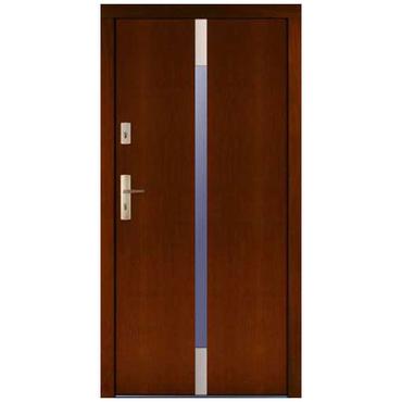Drzwi zewnętrzne drewniane płytowe CAL Zyndram kolekcja Rycerska
