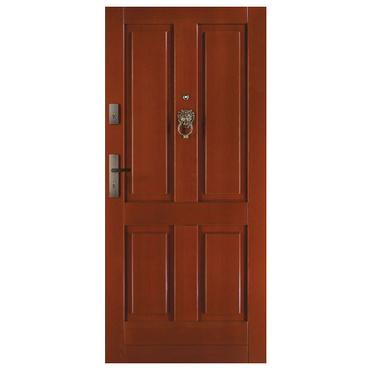 Drzwi zewnętrzne drewniane płycinowe CAL Koruna kolekcja Klasyczna