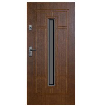 Drzwi zewnętrzne drewniane Simple