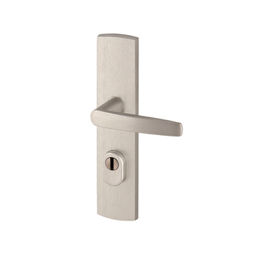 Klamka Diva kl.III do drzwi zewnętrznych z zabezpieczeniem wkładki FLEX