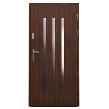 Drzwi zewnętrzne drewniane płytowe CAL Somma kolekcja Vocal