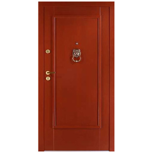 Drzwi zewnętrzne drewniane płytowe CAL Długie kolekcja Rycerska