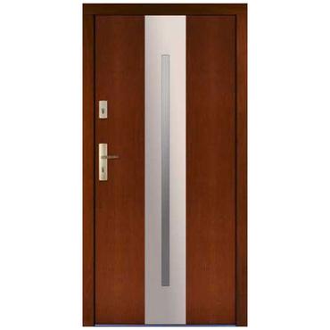 Drzwi zewnętrzne drewniane płytowe CAL Sędziwój kolekcja Rycerska