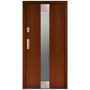 Drzwi zewnętrzne drewniane płytowe CAL Zawisza kolekcja Rycerska