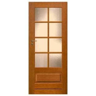 Skrzydło drzwiowe CAL fornirowane Hańcza 6s