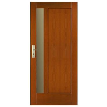 Drzwi zewnętrzne drewniane płycinowe CAL Czantoria kolekcja Klasyczna
