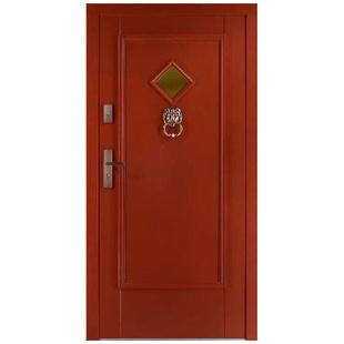 Drzwi zewnętrzne drewniane płytowe CAL Garbaś kolekcja Vintage