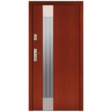Drzwi zewnętrzne drewniane płytowe CAL Sławiec kolekcja Rycerska