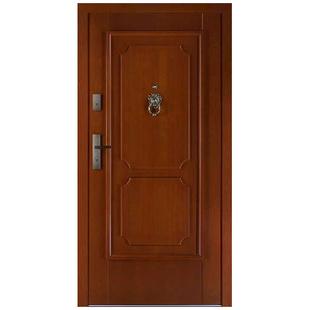 Drzwi zewnętrzne drewniane płytowe CAL Zelwa kolekcja Rycerska