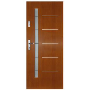 Drzwi zewnętrzne drewniane Slim