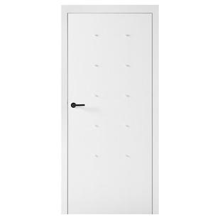 Skrzydło drzwiowe VOX Smart z mufami Wenge White