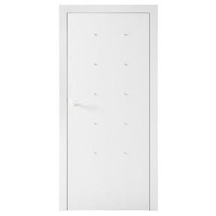 Skrzydło drzwiowe VOX Smart z mufami kolor Biały