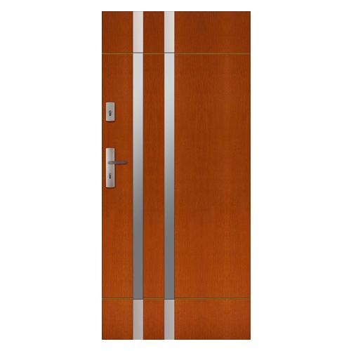 Drzwi Zewnetrzne Drewniane Plytowe Cal Florian Kolekcja Rycerska