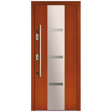Drzwi zewnętrzne drewniane płytowe CAL Farurej kolekcja Rycerska