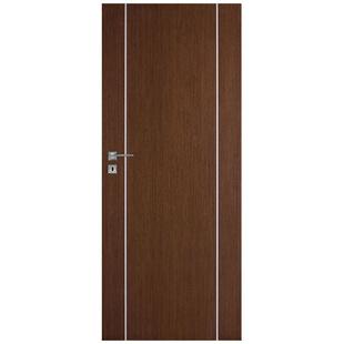 Skrzydło drzwiowe DRE bezprzylgowe fornirowane Galeria Natura Alu 10