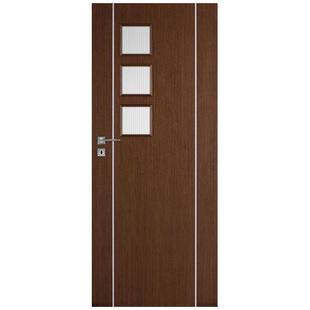 Skrzydło drzwiowe DRE fornirowane Galeria Natura Alu 11