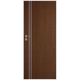 Skrzydło drzwiowe DRE bezprzylgowe fornirowane Galeria Natura Alu 50