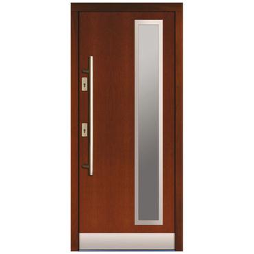 Drzwi zewnętrzne drewniane płytowe CAL Jurand kolekcja Rycerska