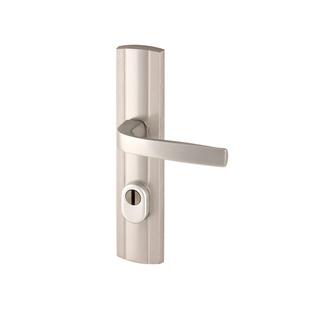 Klamka Prestige kl.III do drzwi zewnętrznych z zabezpieczeniem wkładki FLEX