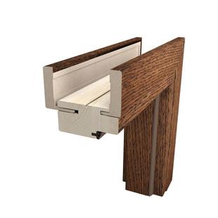 Ościeżnica drewniana regulowana przylgowa System Pol-Skone Lamistone/Silkstone/CPL